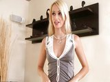 Chlap o�uk� slu�ebnou do prdelky - freevideo