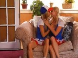 Mladé baseballistky preferují lesbické skotačení - freevideo