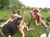 Zběsilé letní orgie na zelené louce - freevideo