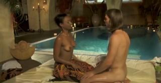 Masáž análku u bazénu - freevideo