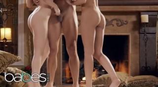 Kimmy Granger a Jaye Summers nažhaví koupel na divokou trojku - freevideo