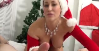 Vánoční noho-honička od sousedky - freevideo