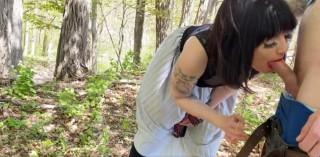 Můj pán mě vyvenčí a vošoustá v lese - freevideo
