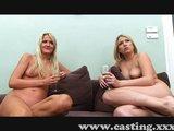 Dvě amatérky ošukaný do prdelky na castingu - freevideo