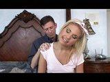 Naivní blond kvítek důkladně análně použit - freevideo