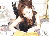 Poslušná japonská choť polyká každičkou kapičku - freevideo